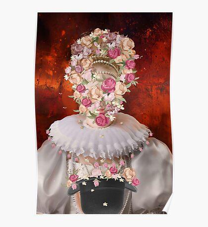 flower -mask Poster