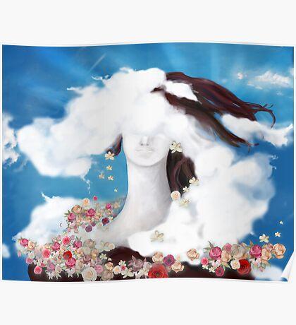 cloud-woman Poster