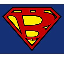 Bitcoin Superman Photographic Print
