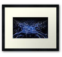 Gnarl River Framed Print