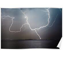 Norah Head Lightning Poster