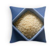 diamond couscous Throw Pillow