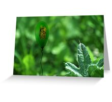 lifes little breezes Greeting Card