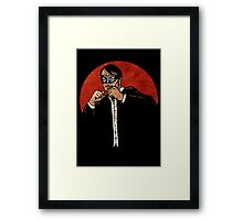 Brother Hazard Bustin' Heads Framed Print