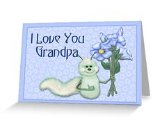 Grandpa's Love Bug Greeting Card
