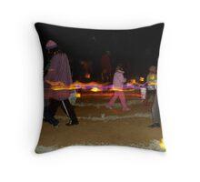 Winter Solstice Festival, Alice Springs Steiner School Throw Pillow