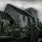 St.Nicholas in Bramber by Larry Davis