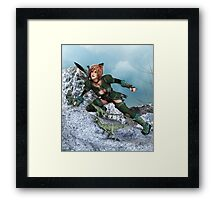 Spirit Quest Framed Print