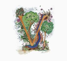 V - an illuminated letter by wiccked