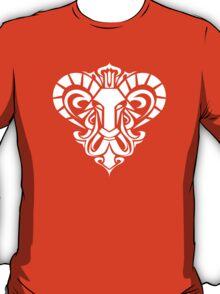 Zodiac Sign Aries White T-Shirt