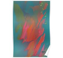 ABSTRACT MICHAEL JACKSON Poster