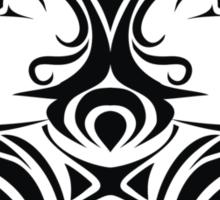 Zodiac Sign Gemini Black Sticker