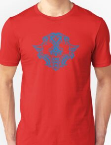 Zodiac Sign Gemini Blue T-Shirt