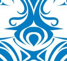 Zodiac Sign Gemini Blue Sticker