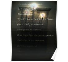 Lords Prayer Poster