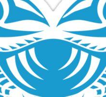 Zodiac Sign Cancer Blue Sticker