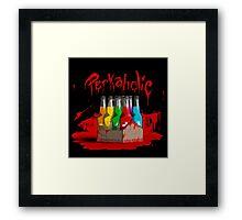 bloody perkoholic Framed Print