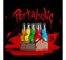 bloody perkoholic Photographic Print