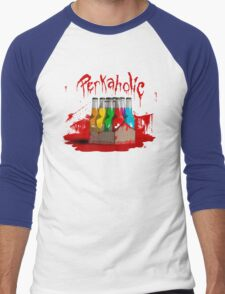 bloody perkoholic Men's Baseball ¾ T-Shirt