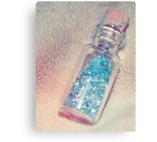Bottle Of Wishes Canvas Print
