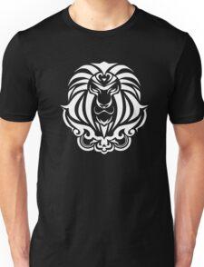 Zodiac Sign Leo White Unisex T-Shirt
