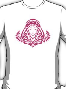 Zodiac Sign Virgo Pink T-Shirt