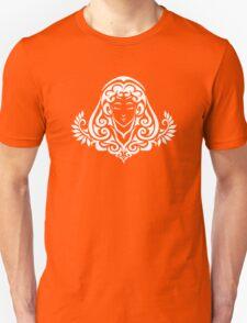 Zodiac Sign Virgo White Unisex T-Shirt