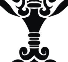 Zodiac Sign Libra Black Sticker