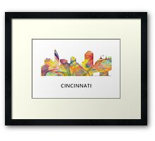 Cincinnati, Ohio Skyline Framed Print