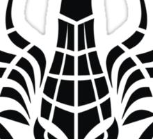 Zodiac Sign Scorpio Black Sticker