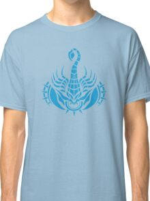 Zodiac Sign Scorpio Blue Classic T-Shirt