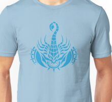 Zodiac Sign Scorpio Blue Unisex T-Shirt