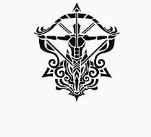 Zodiac Sign Sagitarius Black  Unisex T-Shirt