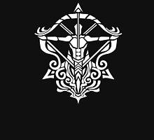 Zodiac Sign Sagitarius White Unisex T-Shirt