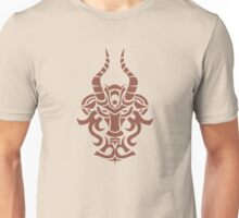 Zodiac Sign Capricorn Brown Unisex T-Shirt