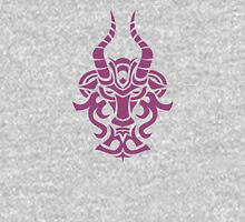 Zodiac Sign Capricorn Violet Unisex T-Shirt