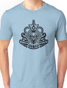Zodiac Sign Aquarius Black Unisex T-Shirt