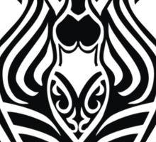 Zodiac Sign Aquarius Black Sticker