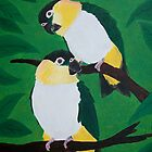 Black Headed Caiques by Joann Barrack
