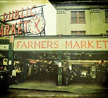 """Pike Place Market"" by eleven12design"