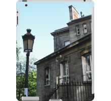 The apartments of Montmartre version 2 iPad Case/Skin