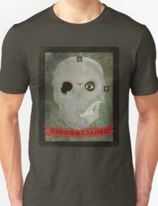 skull / hockey mask with effect T-Shirt