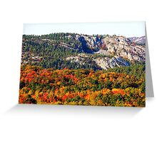 Painted Mountains Greeting Card