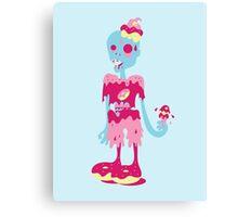 Dessert Zombie Canvas Print
