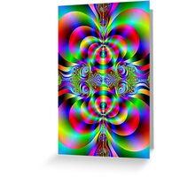 Saturday Nite in Color Greeting Card