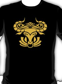 Zodiac Sign Taurus Gold T-Shirt