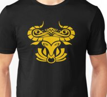 Zodiac Sign Taurus Gold Unisex T-Shirt