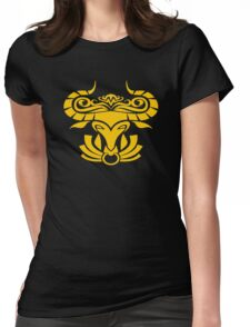 Zodiac Sign Taurus Gold Womens Fitted T-Shirt