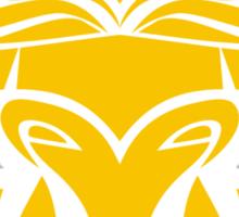 Zodiac Sign Taurus Gold Sticker