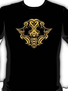 Zodiac Sign Gemini Gold T-Shirt